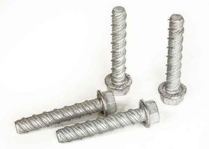 75mm X 12mm Galvanised Concrete Screws