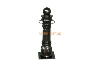Antique Bollard With Chain Eyelets