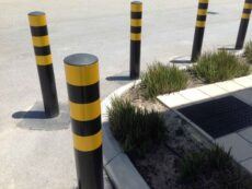 165mm Ram Raid Bollards