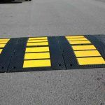 Large Modular 900mm Speed Hump End Section