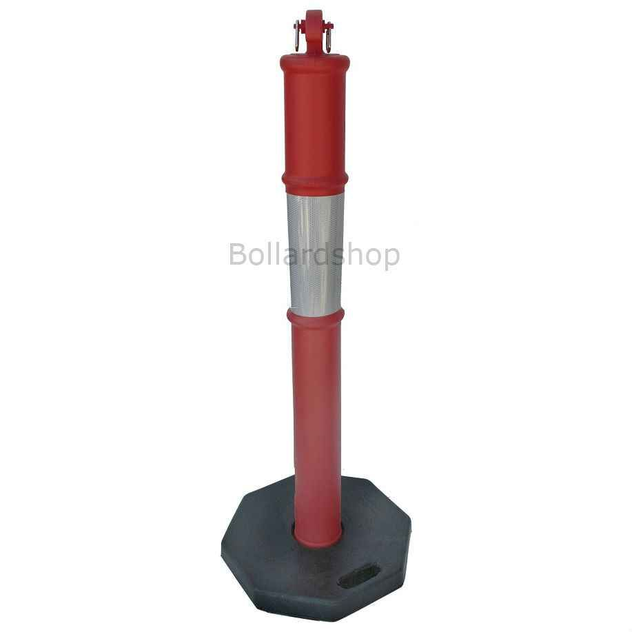 T Top Bollard 8Kg With Bolt And Snap Hooks