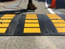 Modular 900mm Rubber Speed Hump Install
