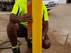In-ground Bollard Installation – Core Drilling